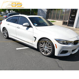 Carbon Fiber Side Skirts Rocker Panels | 14-Present BMW F36 4-Series Grad Coupe