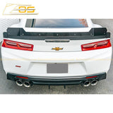 Camaro Extended Version 2 Wickerbill Rear Trunk Spoiler SS 1LE Track Package