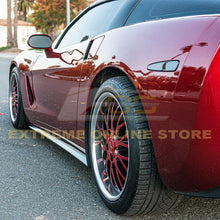 Corvette C6 Base Side Skirts Rocker Panels | ZR1 Conversion Package