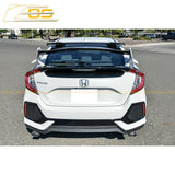 2016-19 Honda Civic Hatchback Type R Conversion Rear Spoiler W/ Spoon Roof Spoiler