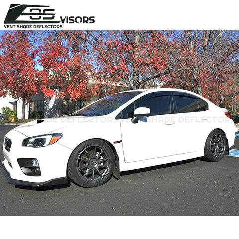 2015-19 Subaru WRX | STi Window Visors Wind Deflectors Rain Guards - ExtremeOnlineStore