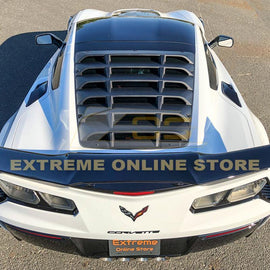 Corvette C7 Coupe Rear Window Louver Cover