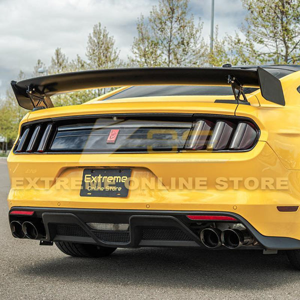 2015-Up Ford Mustang GT500 Rear Spoiler High Wing