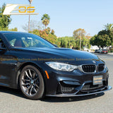 15-Up BMW F82 M4 Carbon Fiber Front Splitter & Side Skirts