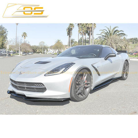 Corvette C6 Grand Sport / Z06 Front Splitter Lip & Side Skirts Rocker Panels