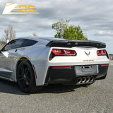 Corvette C7 Stage 3 Rear Spoiler W/ Wickerbill Extension