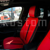 2014-Up Porsche Macan Two-tone Leather Seat Covers