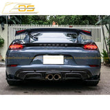 2017-19 Porsche 718 Cayman & Boxster Rear Spoiler | GT4 Performance Package