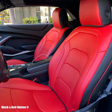 6th Gen Camaro Artificial Leather Two-Tone Seat Covers