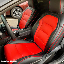 6th Gen Camaro Artificial Leather Two-Tone Sheath Seat Covers