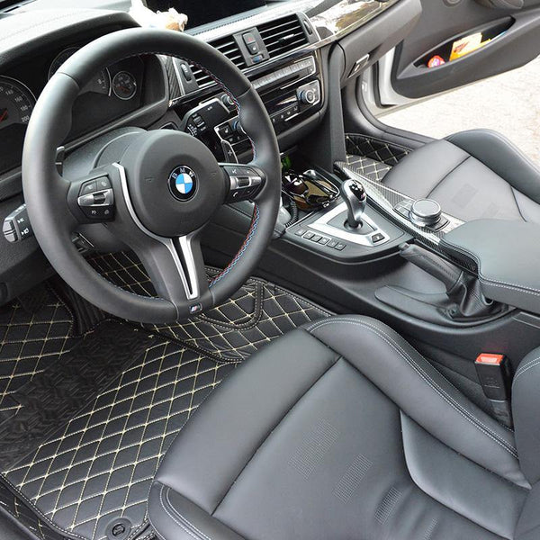 2012-19 BMW 3-Series Artificial Leather Waterproof Floor Mat