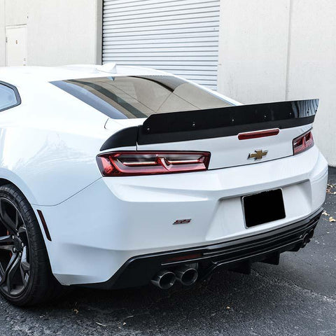 Camaro Extended Wicker Bill Rear Trunk Spoiler | EOS SS 1LE Track Package - ExtremeOnlineStore