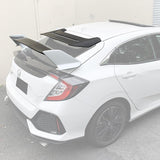 2016-19 Honda Civic Hatchback Type R Conversion Rear Spoiler W/ Mugen Style Roof Spoiler
