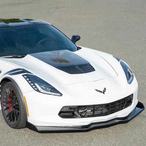 Corvette C7 Stage 2.5 ZR1 Conversion Extended Front Splitter Lip