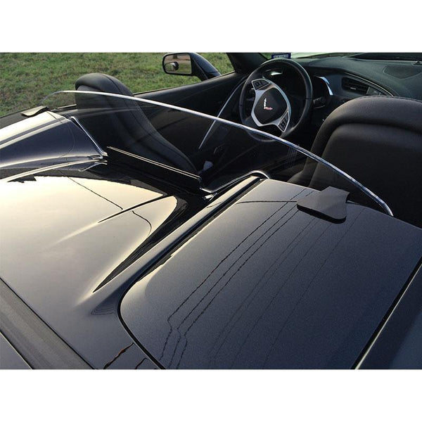WindRestrictor® C7 Convertible Rear Add On Wind Deflector