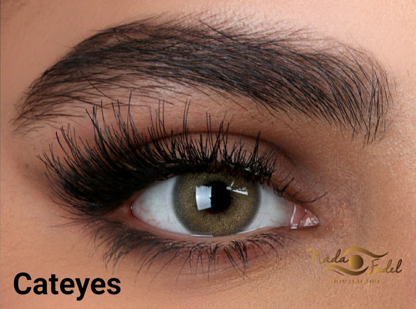 Nada Cateyes with prescription  ندى كات ايز  طبيه