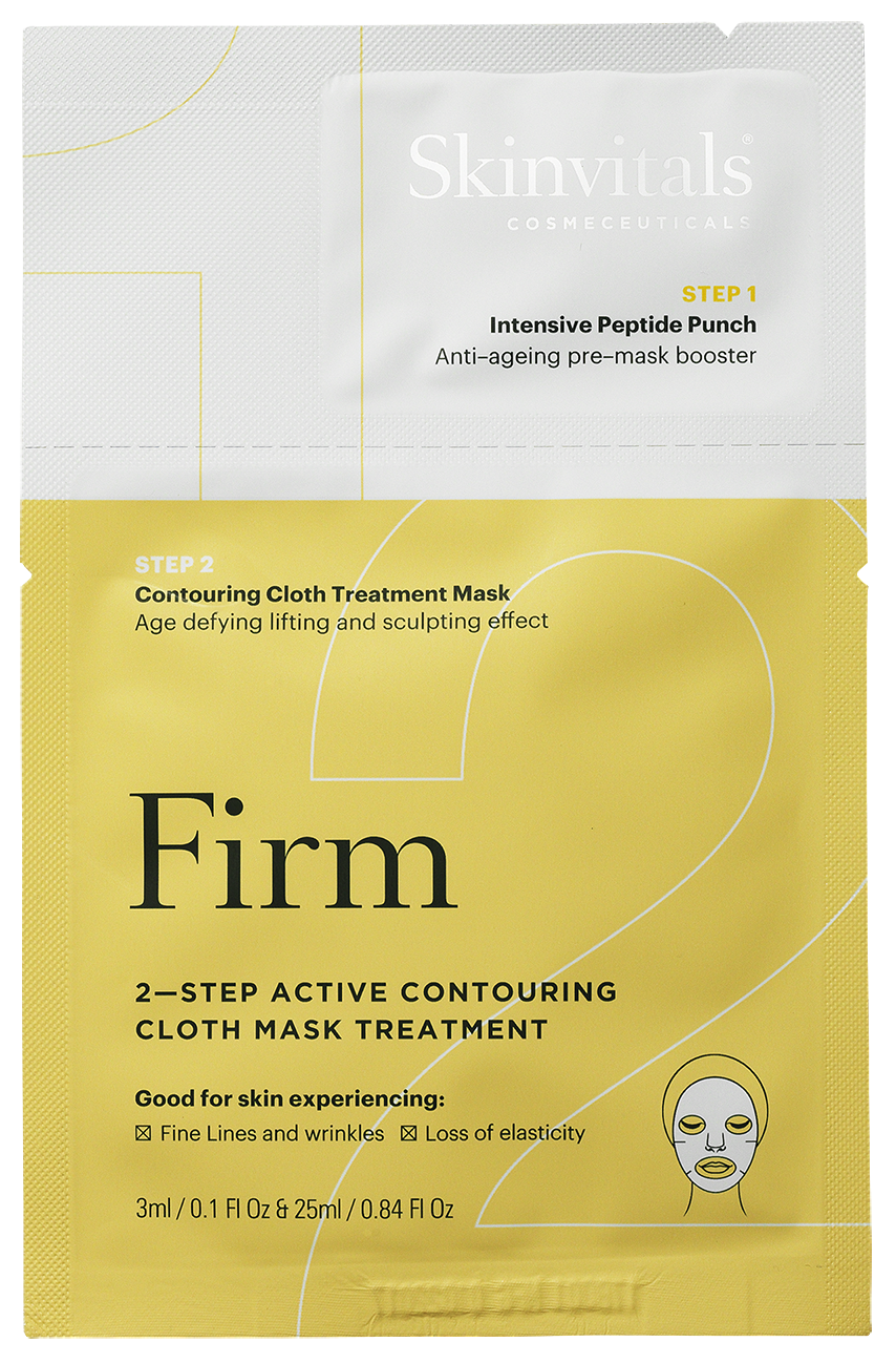 2–Step Contouring Firm Cloth Mask Treatment