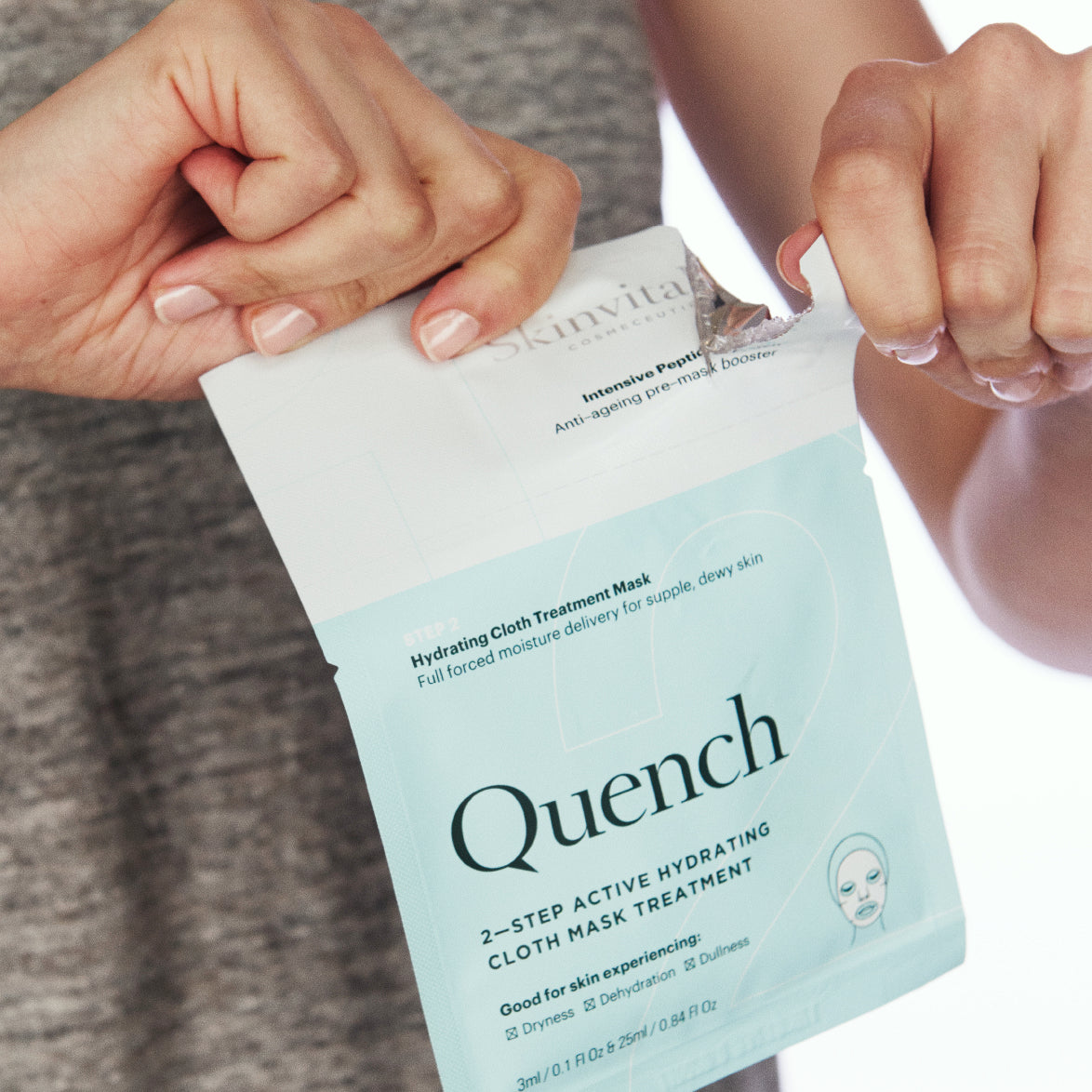 2–Step Hydrating Quench Cloth Mask Treatment