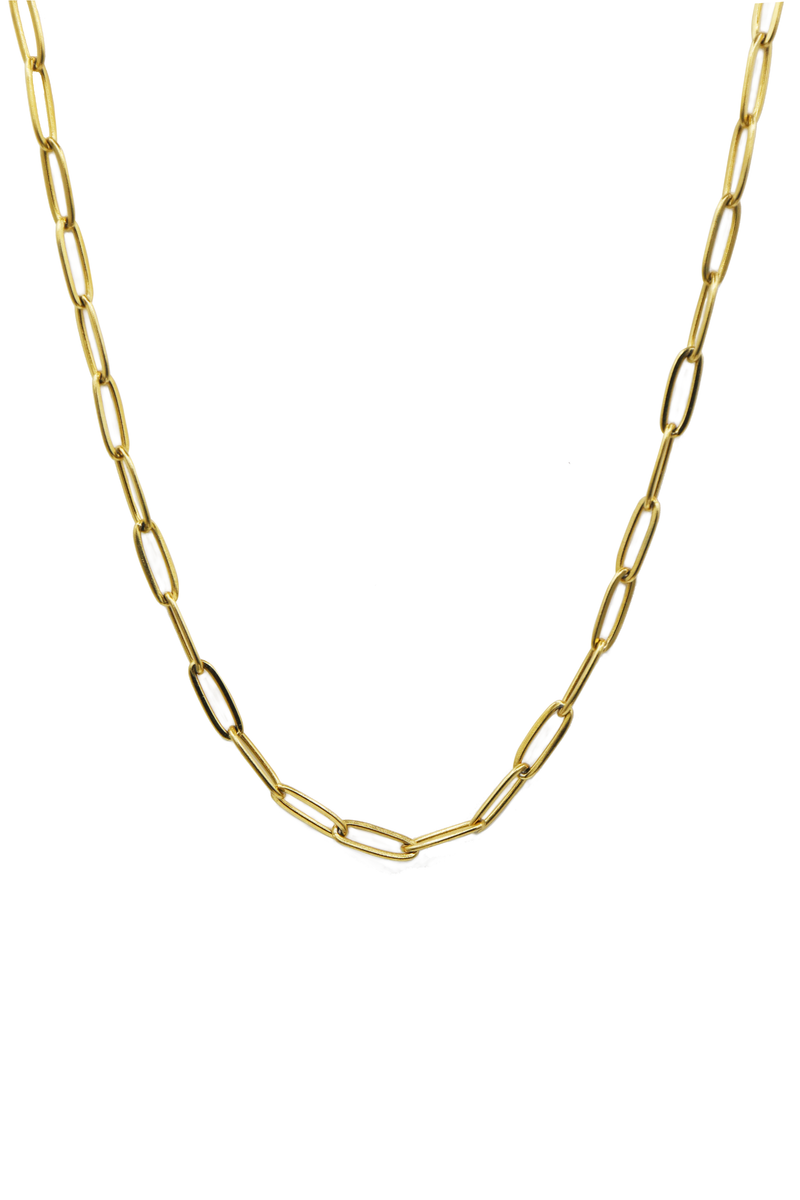 Chunky Oval Chain: Necklace