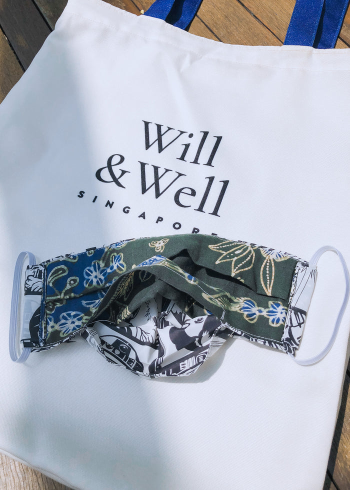 Will Be Well | Pleated Mask (Adult)