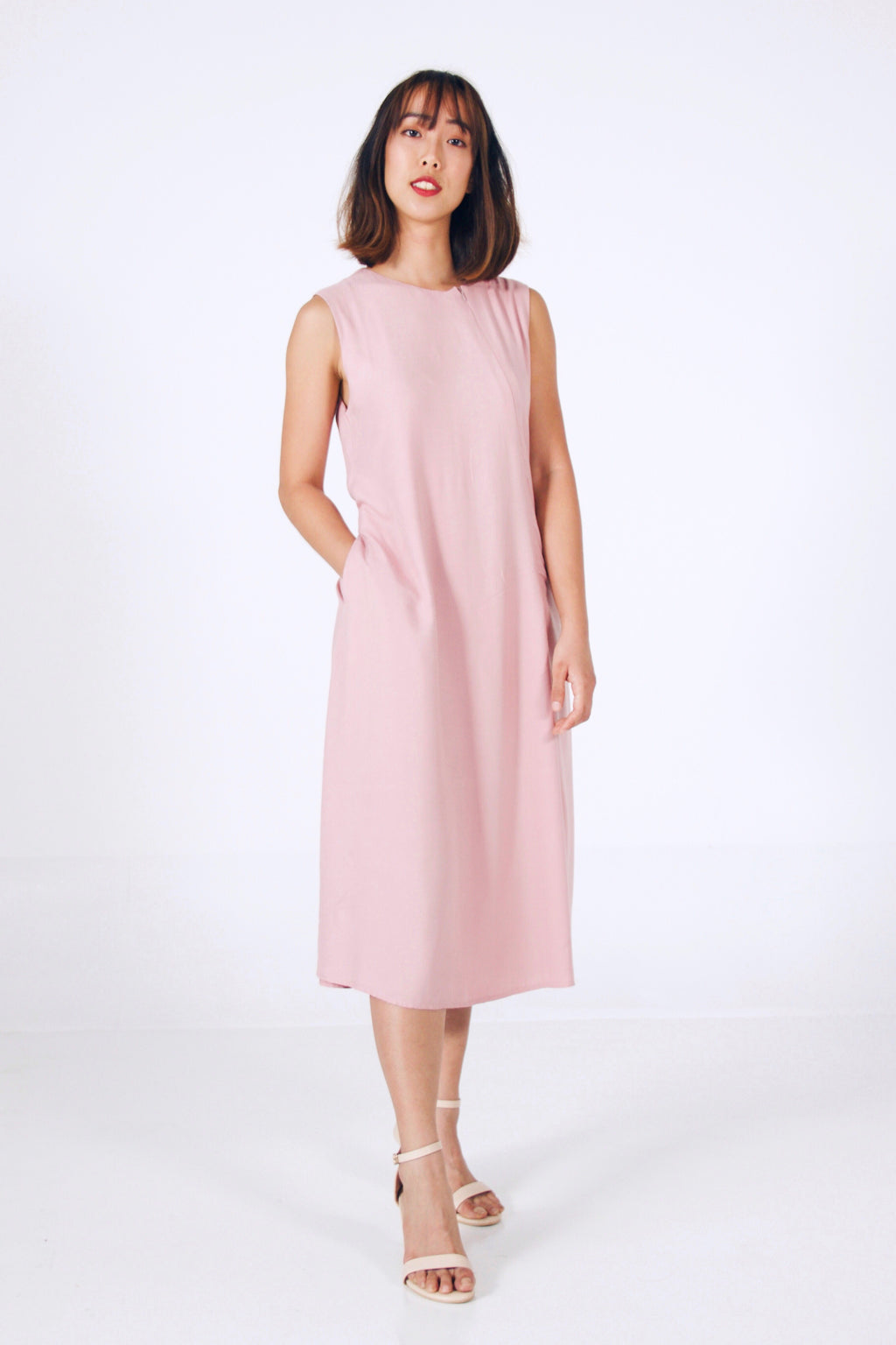 Midi Sleeveless Dress