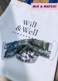 Will Be Well | Pleated Mask (Child)