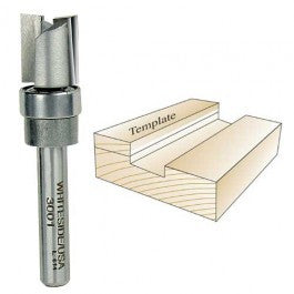Whiteside 3004 Template Bit 1/2''CD, 1''CL, 2-1/2''OAL, 1/4'' Shank