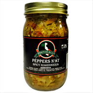 Peppers N'at - SPICY.. (Free Ground Shipping up to 15lbs / Greater discounts on multi pack orders!)