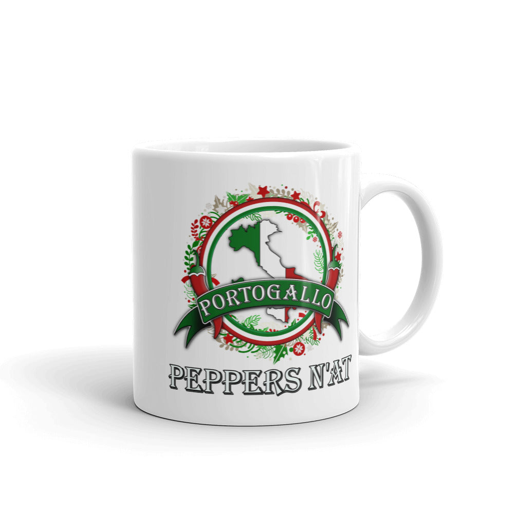 Christmas Wreath Mug - Limited Edition!