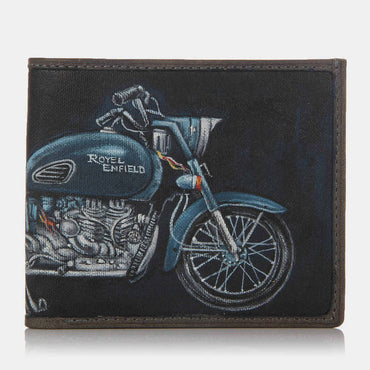 Royal Enfield Black Wallet