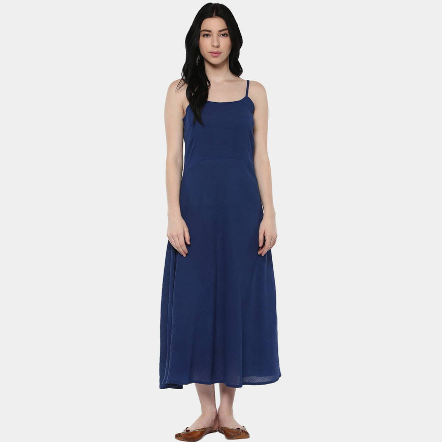 Kalbelia Indigo Cotton Layer Dress (5)