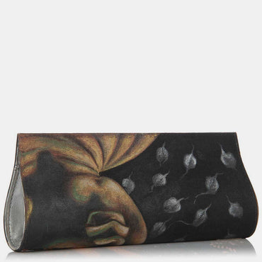 Hand Painted Buddha Clutch