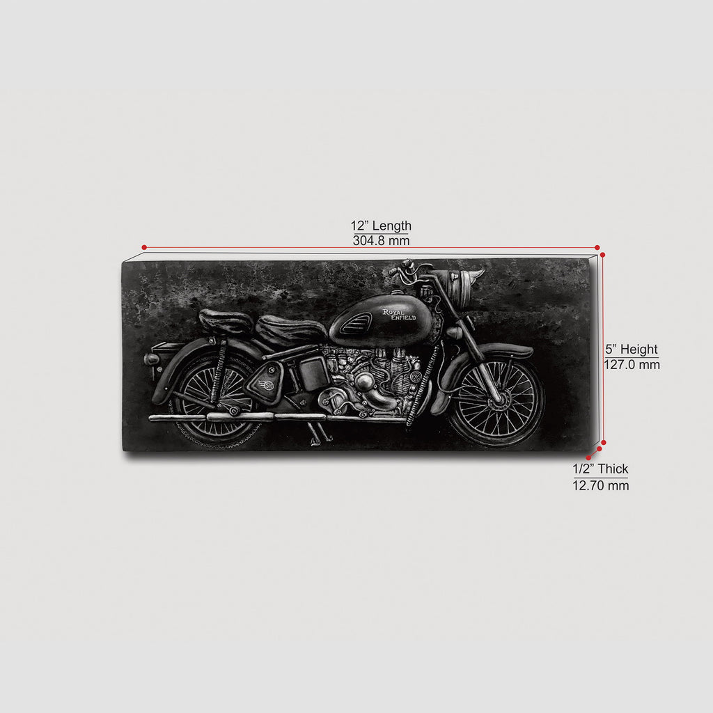 Royal Enfield Hand Painted Wall Tile