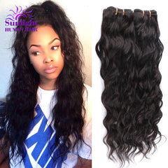 Brazilian Virgin Hair Water Wave 3 Bundles