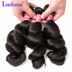 Brazilian Loose Wave Virgin Hair 3 Bundles