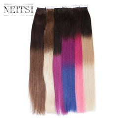 "Tape In Hair extensions  20"" 2.0g/s 50g Ombre Colored 5A High Quality"