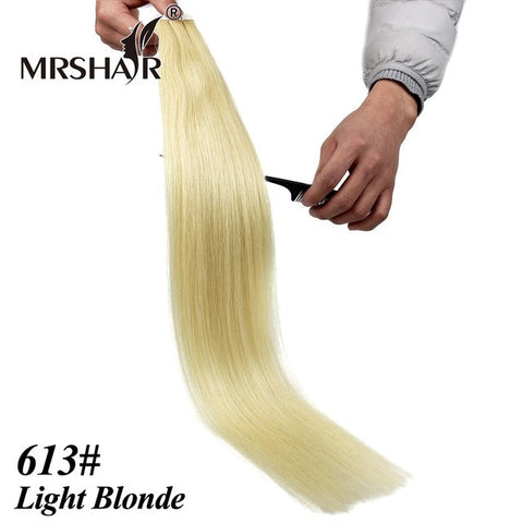 24inches Tape In Remy Hair Brazilian Straight
