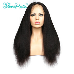 Lace Human Hair Wigs With Baby Hair Glueless Full Lace Wigs Mongolian Virgin Hair Kinky Straight