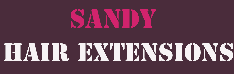 sandy hair extensions