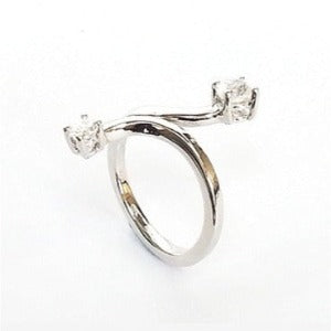 Bird's Wings Design 925 Sterling Silver Ring