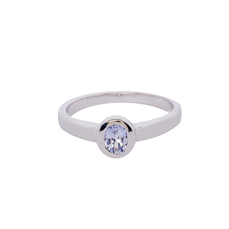 Stylish Cubic Zirconia Ring