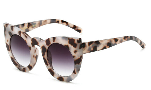 Fashion round cat eye sunglasses
