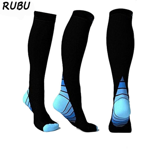 Compression Socks for Men & Women, Graduated Athletic Fit for Running, Nurses, Shin Splints, Plantar Fasciitis, Flight Travel, & Maternity/Pregnancy