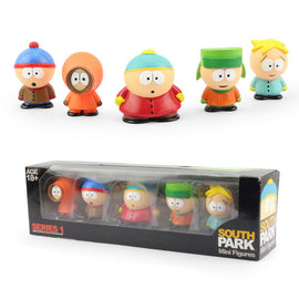 South ParkMini 6cm Action Figure Collectible Set