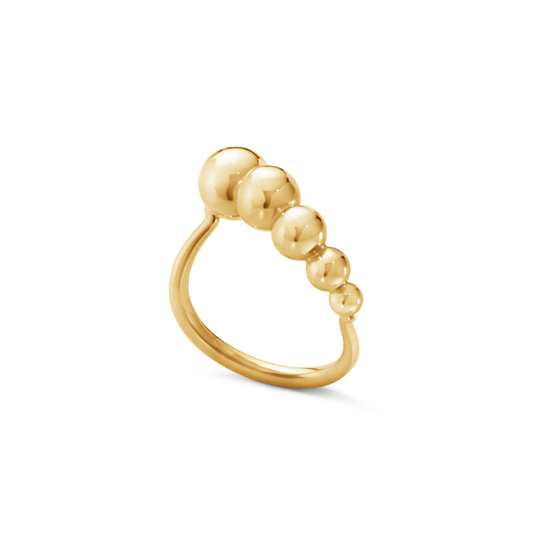 Georg Jensen Moonlight Grapes Ring - 18 kt. Guld