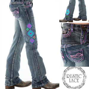 Cowgirl Tuff 'AZTEC' Jeans (Girls)