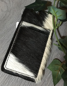 'Albany' Cowhide Phone Case With Pockets (iPhone 6)