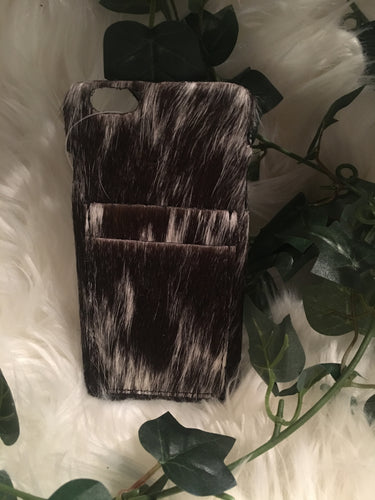Cowhide Phone Case, Flare Back (iPhone 6+)