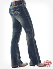 Cowgirl Tuff 'DON'T FENCE ME IN' Jeans - (CREAM)