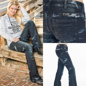 Cowgirl Tuff 'MAKIN WAVES' Jeans